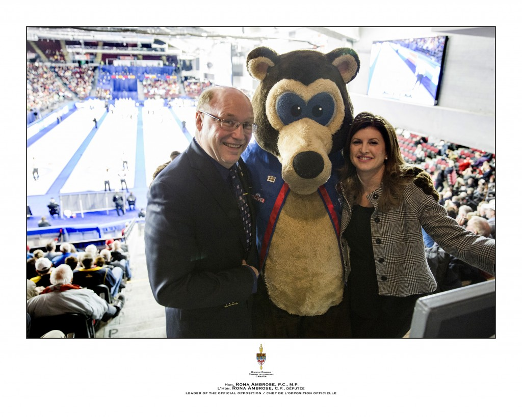 Rob and Rona - Tim Hortons Brier - March 22, 2016