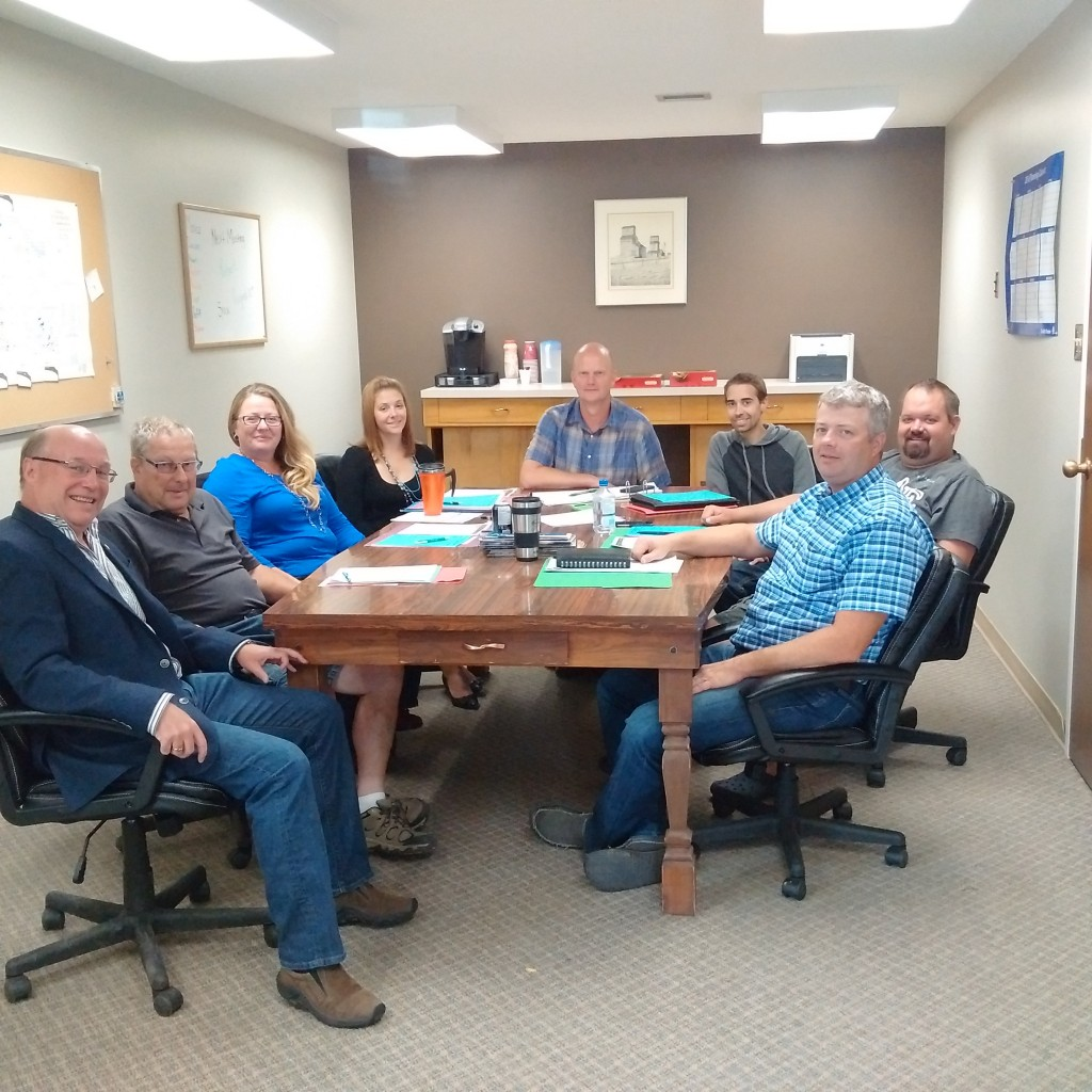 Meeting RM of Cambria #6 Council - Rob, Robert Adams, Pauline Ziehl-Grimsrud, Monica Wheeler, Darwin Daae, Justin Marcotte, Jeff Marcotte, Donald Hurren