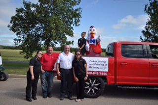 Weyburn Chamber of Commerce Parade.