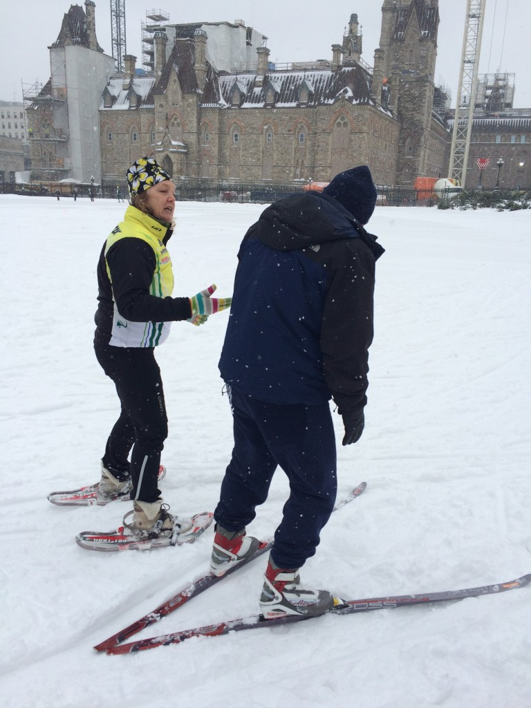 Cross Country Ski-Day on the Hill