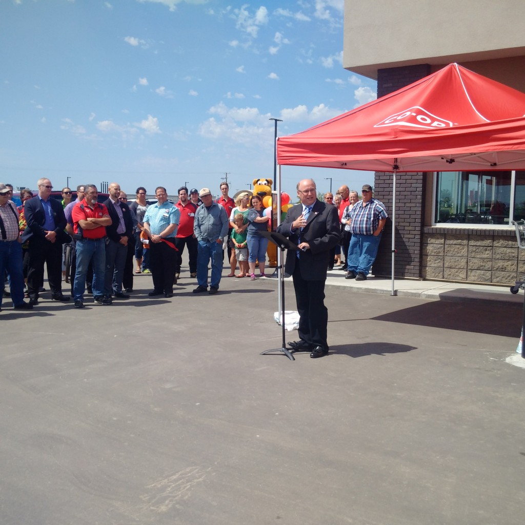 Grand Opening Co-Op in Oxbow