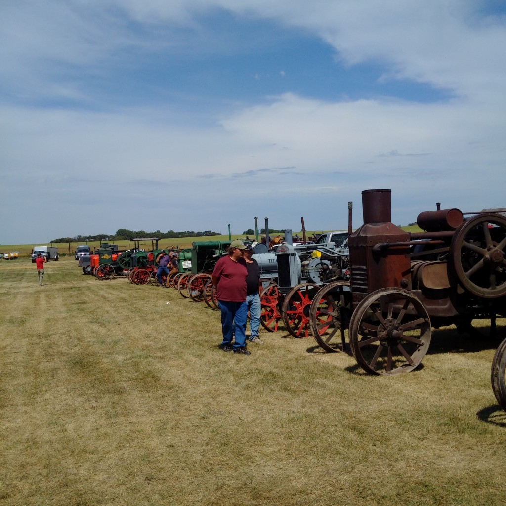 More tractors at the Souris Valley Antique Association 50th anniversary]