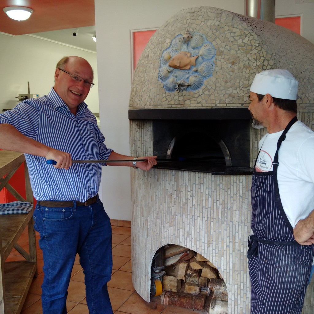 Solo Italia restaurant in Ogema, SK. Great pizza and worth the drive. This is a small business with a plan!