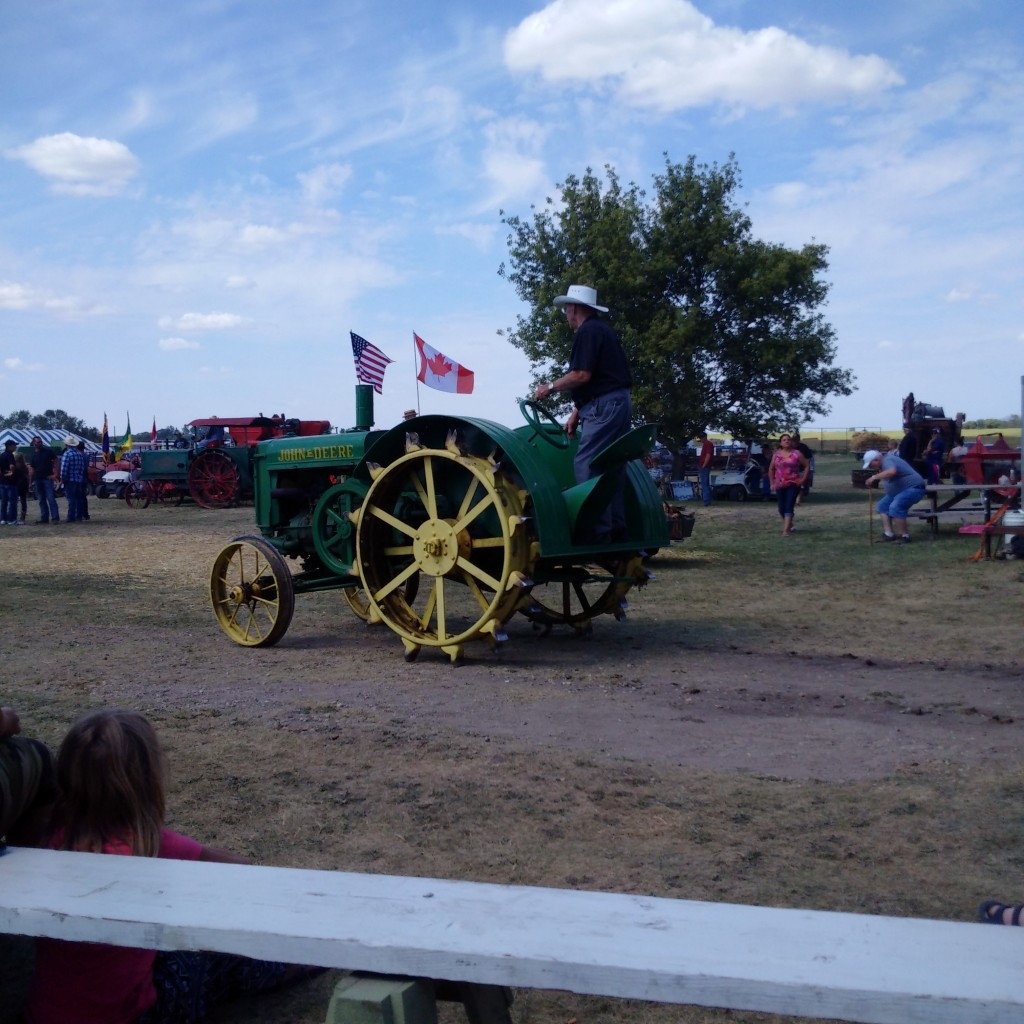 Start of the Parade - Souris Valley Antique Association 50th anniversary2