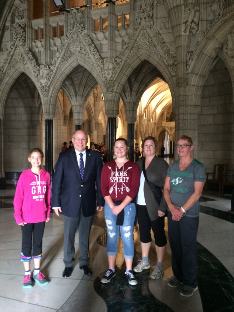 Thank you to Jennifer, Kari, Hunter and Joanne for spending the morning with my staff and I. I hope you all enjoyed your tour!
